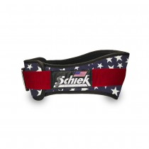 Schiek Stars & Stripes Nylon Lifting Belt