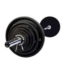 Troy 210 lb Olympic Weight Set