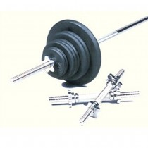 Troy 160 lbWeight Set with Threaded Bar