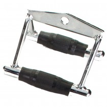 Troy Solid Chrome Chinning Triangle with Rubber Grips