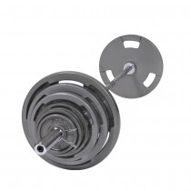 Troy 300 lb Olympic Weight Set with VTX Grip Plates