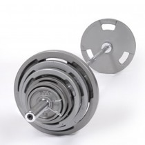 Troy 400 lb Olympic Weight Set with VTX Grip Plates