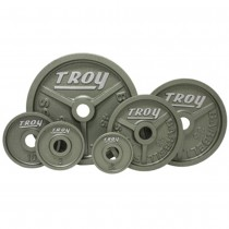 Troy Machined Iron Plates with Enamel Finish