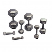 Troy Solid Cast HEX Dumbbells