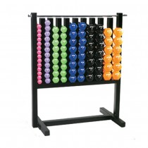 Troy Aerobic Pac with 43 Pairs of Vinyl or Neoprene Dumbbells