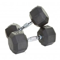 Troy 8-Sided Rubber Encased Dumbbells