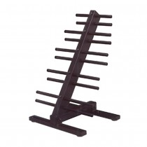 Troy Ten Pair Vinyl or Neoprene Dumbbell Rack