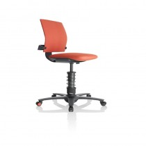 3DEE Microfiber Spring Office Chair - Red