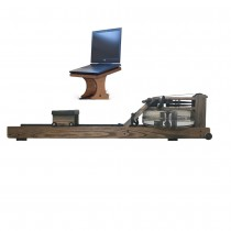 WaterRower Vintage Oak Bundled w/   WaterRower Laptop Stand