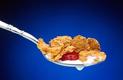 Healthy Cereal on Spoon Thumbnail
