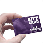 Unique Fitness Gift Cards