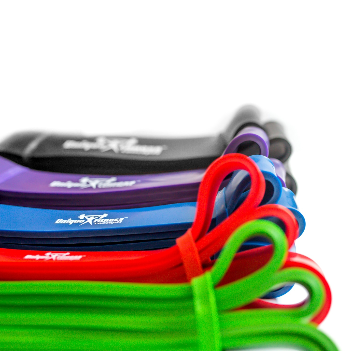 multi colored Resistance Bands